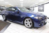 USED 2016 66 BMW 5 SERIES 2.0 520D M SPORT PLUS AUTO 190 BHP PRO NAV HEAD UP H/KARDON XENON