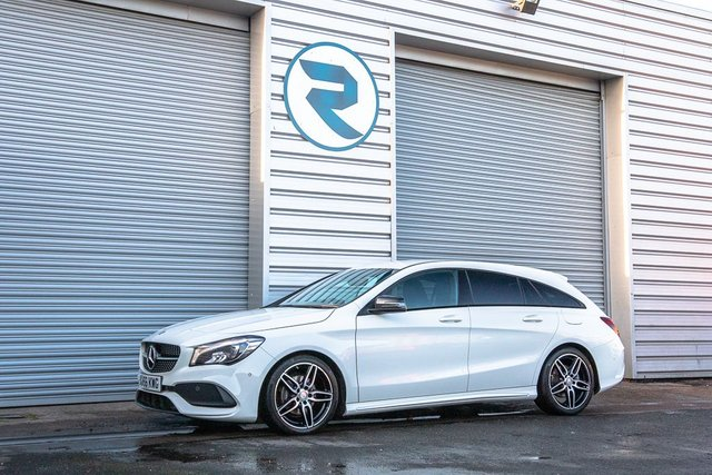 USED 2016 66 MERCEDES-BENZ CLA 2.1 CLA 200 D AMG LINE 5DR