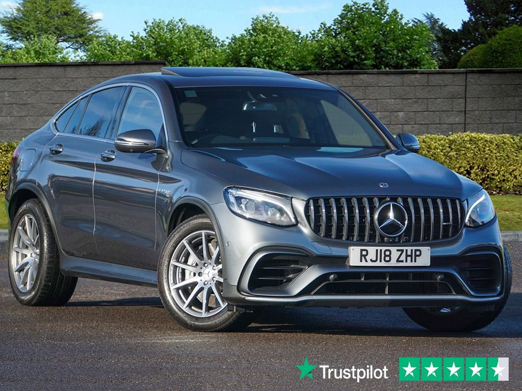 USED 2018 18 MERCEDES-BENZ GLC-CLASS 4.0 AMG GLC 63 4MATIC PREMIUM 4d 470 BHP Mercedes Warranty 2021