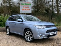 USED 2014 14 MITSUBISHI OUTLANDER 2.0 PHEV GX 4H 5dr HUGE SPEC, Sat Nav, £0 Tax