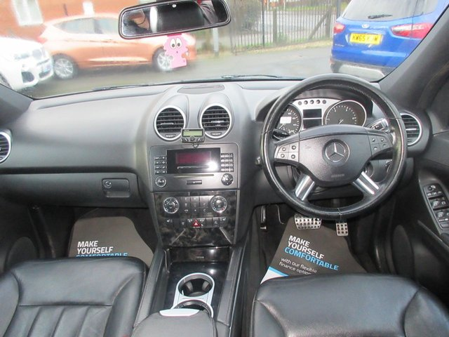 USED 2008 58 MERCEDES-BENZ M CLASS 3.0 ML280 CDI EDITION 10 5d 188 BHP AUTOMATIC DIESEL...FULL LEATHER...