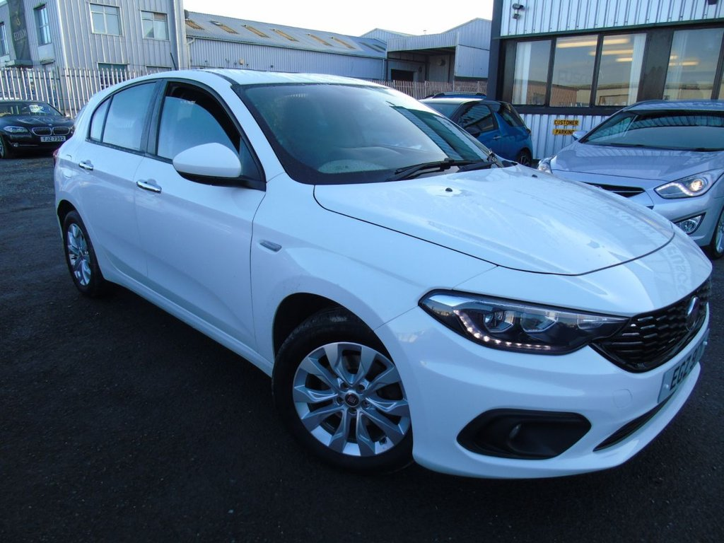 USED 2017 FIAT TIPO 1.2 MULTIJET EASY PLUS 5d 95 BHP £131 a month, T&Cs apply.