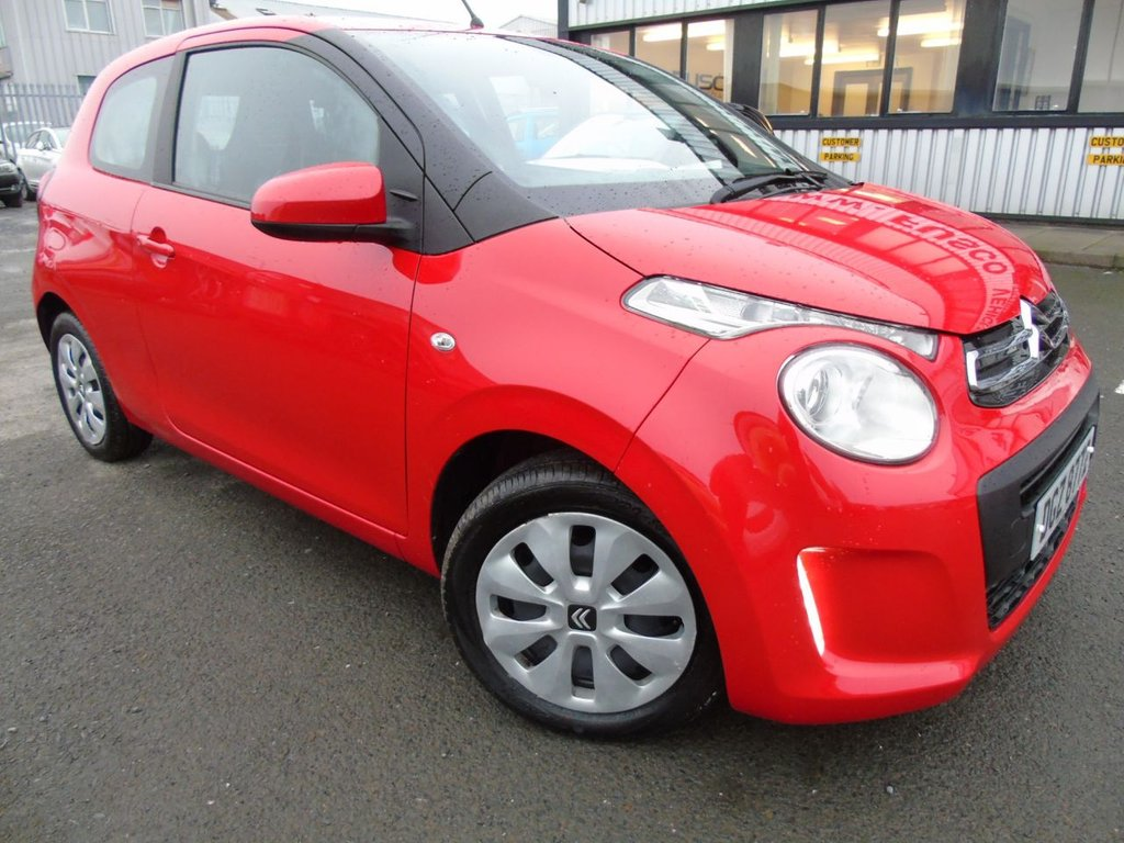 USED 2016 CITROEN C1 1.0 FEEL 3d 68 BHP £115 a month, T&Cs apply.