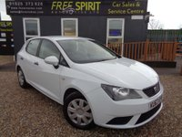 USED 2013 63 SEAT IBIZA 1.2 S 5dr (a/c) 2 Owners, Low Tax & Insurance