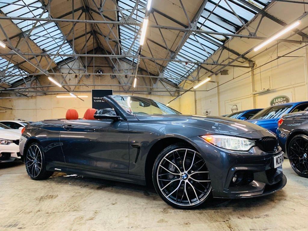USED 2016 16 BMW 4 SERIES 3.0 435d M Sport xDrive 2dr GENUINE BMW M PERFORMANCE KIT