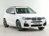 USED 2016 16 BMW X3 3.0 30d M Sport Sport Auto xDrive 5dr ***** £6,600 of EXTRAS *****