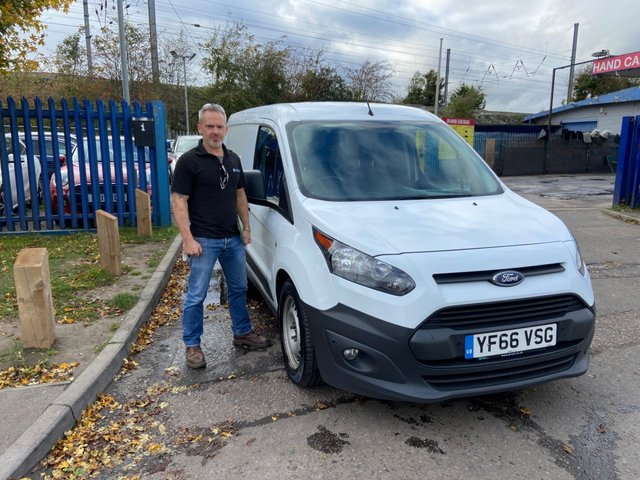 2016 66 FORD TRANSIT CONNECT 1.5 210 P/V 74 BHP