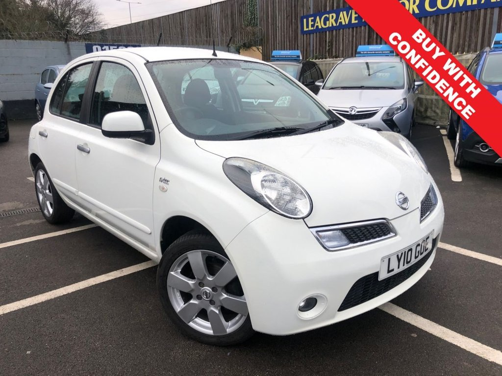 USED 2010 10 NISSAN MICRA 1.2 N-TEC 5d 80 BHP SMALL AUTOMATIC + LOW MILEAGE