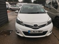 USED 2013 63 TOYOTA YARIS 1.3 VVT-I T SPIRIT 5d 98 BHP AUTOMATIC ONLY 31000 MILES!!!