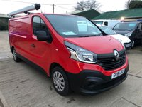 USED 2016 16 RENAULT TRAFIC 1.6 LL29 BUSINESS ENERGY DCI LWB 120 BHP