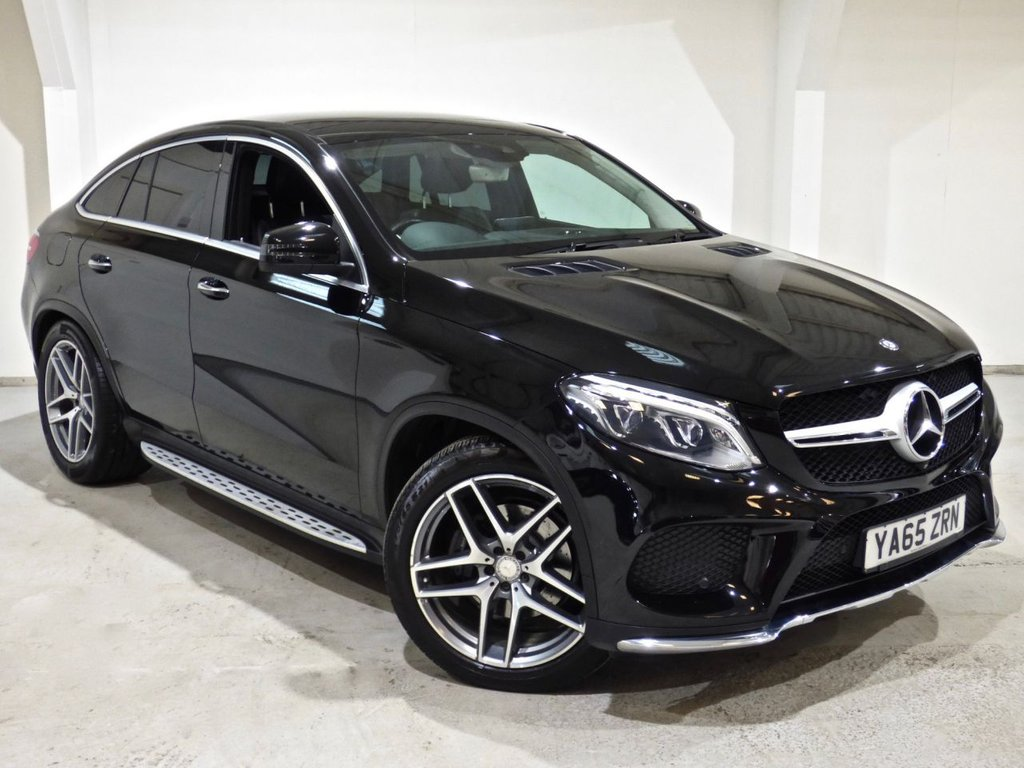 USED 2016 65 MERCEDES-BENZ GLE-CLASS 3.0 GLE 350 D 4MATIC AMG LINE PREMIUM PLUS 4d 255 BHP