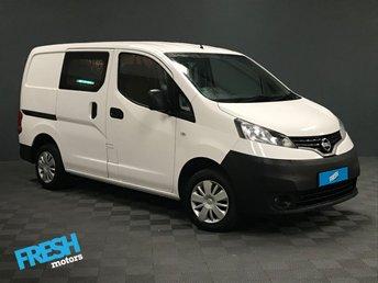2018 NISSAN NV200 1.5 DCI ACENTA CREW CAB £10675.00