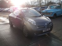USED 2006 06 NISSAN MICRA 1.6 SPORT CC 2d 109 BHP Economical and Reliable Micra Convertible, Drives Well and Roof Works.