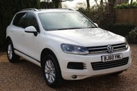 USED 2011 60 VOLKSWAGEN TOUAREG 3.0 V6 SE TDI BLUEMOTION TECHNOLOGY 5d 237 BHP ** EXCELLENT CONDITION - 8 SERVICE STAMPS **