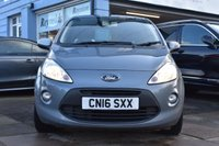 USED 2016 16 FORD KA 1.2 TITANIUM 3d 69 BHP NO DEPOSIT FINANCE AVAILABLE