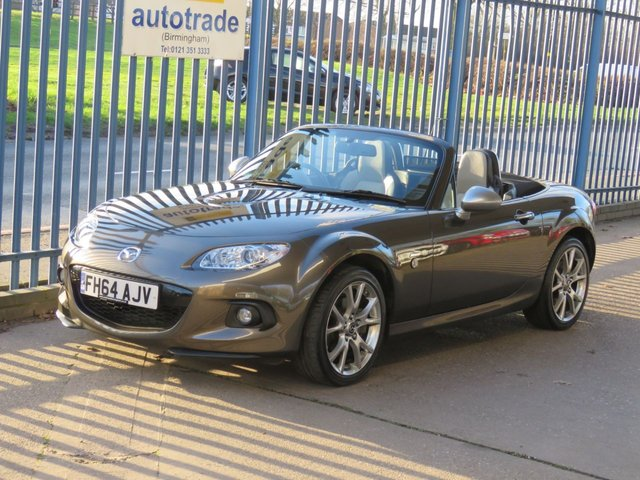 USED 2014 64 MAZDA MX-5 1.8 I SPORT VENTURE 2dr Sat nav Leather Bluetooth Heated seats Alloys Finance arranged Part exchange available Open 7 days