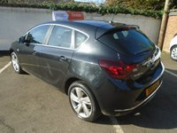 USED 2013 13 VAUXHALL ASTRA 1.4 SRI 5d 98 BHP GUARANTEED TO BEAT ANY 'WE BUY ANY CAR' VALUATION ON YOUR PART EXCHANGE