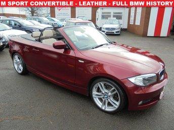 2012 BMW 1 SERIES 2.0 118D M SPORT 2d 141 BHP £6997.00
