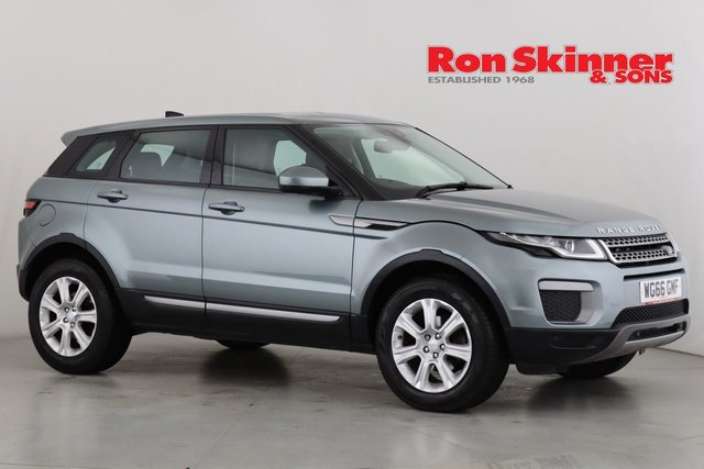 View our 2016 66 LAND ROVER RANGE ROVER EVOQUE 2.0 ED4 SE 5d 148 BHP