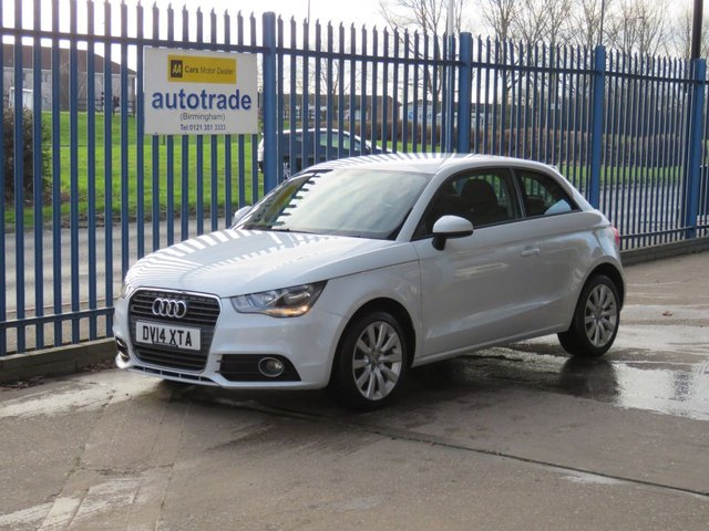 USED 2014 14 AUDI A1 1.2 TFSI SPORT  3d 84 BHP Low Miles with service history
