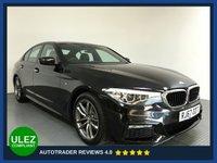 USED 2017 67 BMW 5 SERIES 2.0 520I M SPORT 4d 181 BHP FULL SERVICE HISTORY - 1 OWNER - SAT NAV - PARKING SENSORS - LEATHER - DAB RADIO- CRUISE - HEATED SEATS