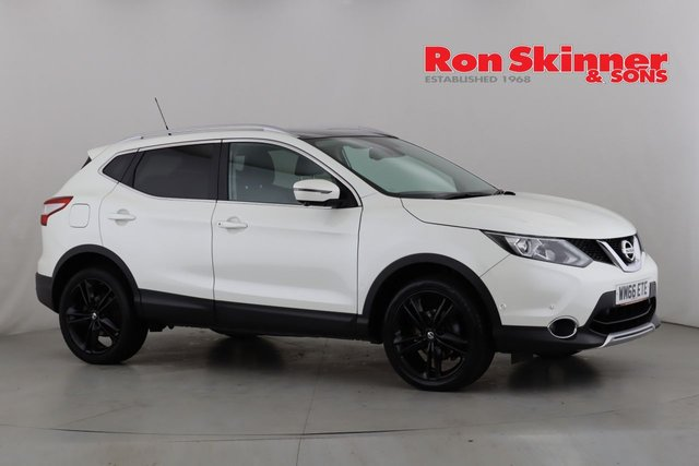 View our 2016 66 NISSAN QASHQAI 1.5 DCI BLACK EDITION 5d 108 BHP