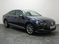 USED 2016 65 VOLKSWAGEN PASSAT 2.0 R LINE TDI BLUEMOTION TECHNOLOGY DSG 4d 148 BHP HEATED HALF LEATHER SEATS + SAT NAV + BLUETOOTH TELEPHONE & AUDIO