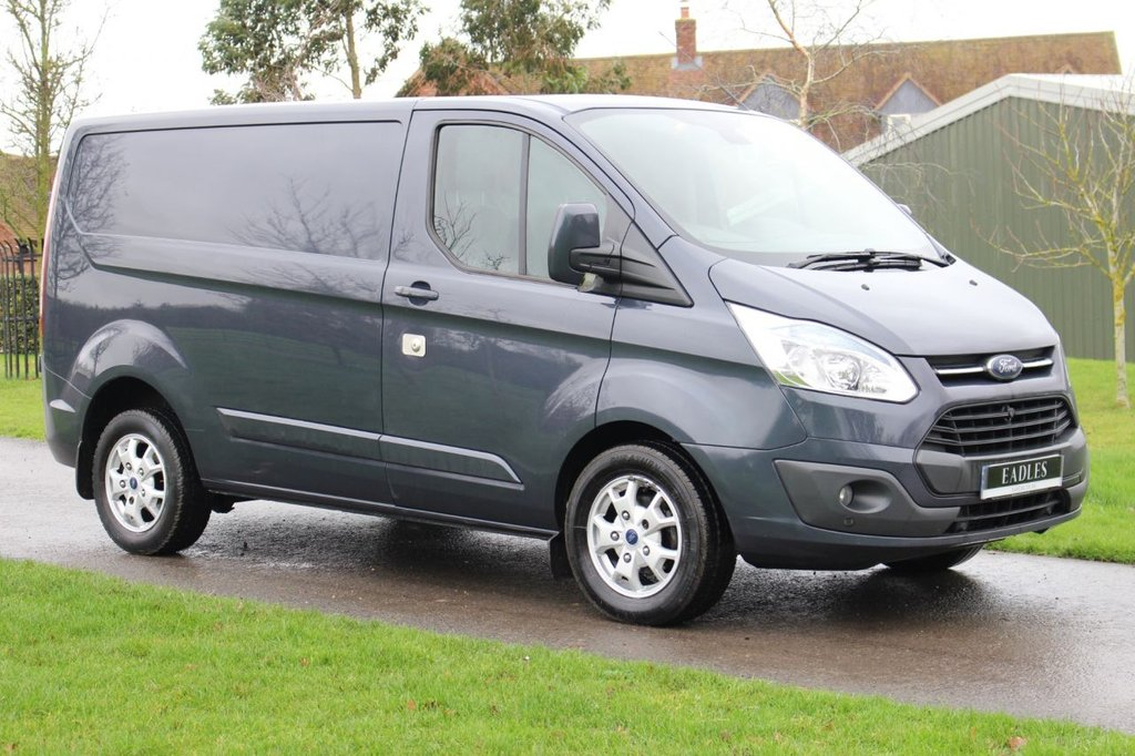 USED 2014 64 FORD TRANSIT CUSTOM 2.2 270 LIMITED LR P/V 124 BHP Brazier Blue - Limited - Fully loaded - Extra Security locks - Warranty -