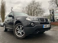USED 2009 BMW X3 2.0 D SE 5d 175BHP ALLOYS+CLIMATE+CRUISE+MEDIA+ELECS+2OWNERS+CLEANCAR+AUX+