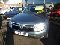 2013 DACIA DUSTER 1.5 AMBIANCE DCI 5d 107 BHP £4995.00