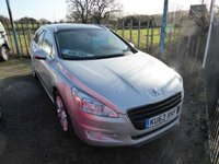 2013 PEUGEOT 508 1.6 HDI SW ACTIVE NAVIGATION VERSION 5d 112 BHP £5495.00