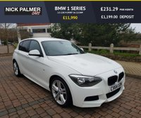 USED 2014 64 BMW 1 SERIES 2.0 125D M SPORT 5d 215 BHP FULL SERVICE HISTORY