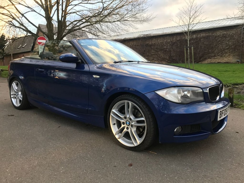 USED 2009 09 BMW 1 SERIES 2.0 120I M SPORT 2d 168 BHP 1 OWNER FROM NEW, FULL SERVICE HISTORY & HUGE SPECIFICATION !!