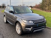 "USED 2014 64 LAND ROVER RANGE ROVER SPORT 3.0 SDV6 HSE 5d 288 BHP AUTO 21"" ALLOYS, IVORY LEATHER"