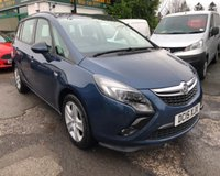 USED 2015 15 VAUXHALL ZAFIRA TOURER 1.4 EXCLUSIV 5d 138 BHP