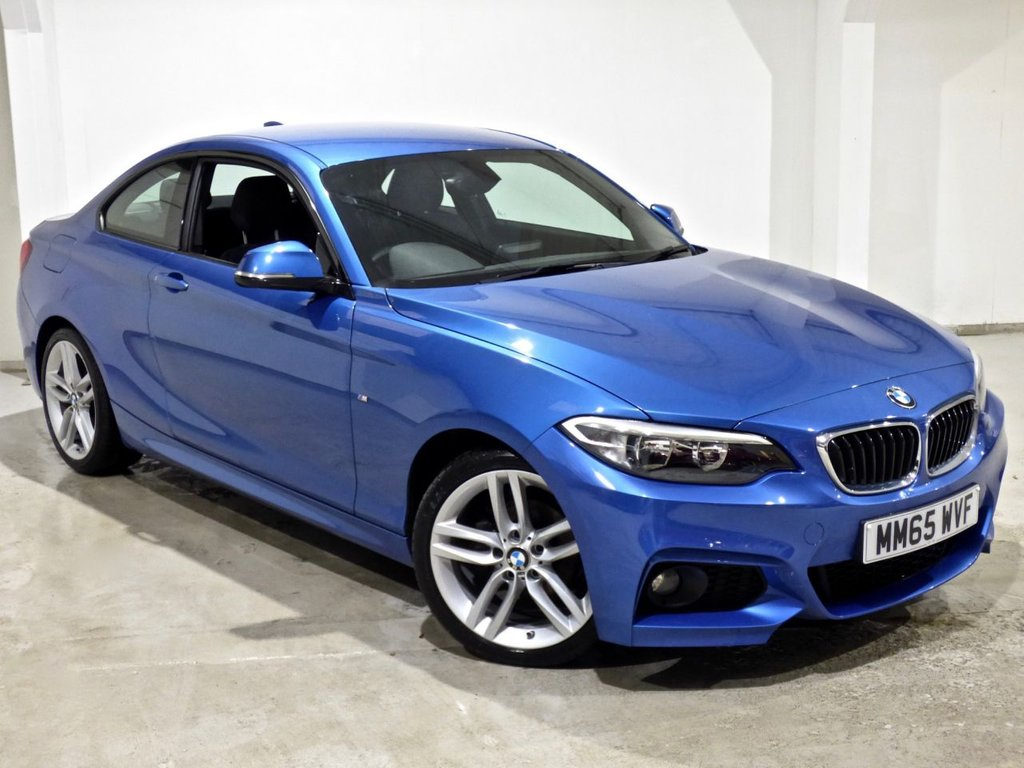 USED 2015 65 BMW 2 SERIES 2.0 218D M SPORT 2d 148 BHP