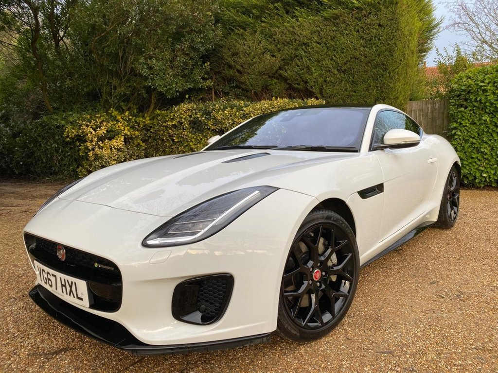 USED 2017 67 JAGUAR F-TYPE 2.0 I4 R-DYNAMIC 2d 296 BHP