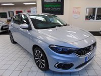 USED 2017 17 FIAT TIPO 1.2 MULTIJET LOUNGE 5d 95 BHP FULL SERVICE HISTORY + 6 MONTHS WARRANTY + SATELLITE NAVIGATION + BLUETOOTH + ALLOYS + ZERO ROAD TAX + DSB RADIO + ELECTRIC WINDOWS + CRUISE CONTROL + CLIMATE CONTROL + REMOTE CENTRAL LOCKING + GREAT MPG