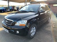 USED 2008 58 KIA SORENTO 2.5 XS 5d 168 BHP FULL LEATHER, 2 OWNERS, 4X4