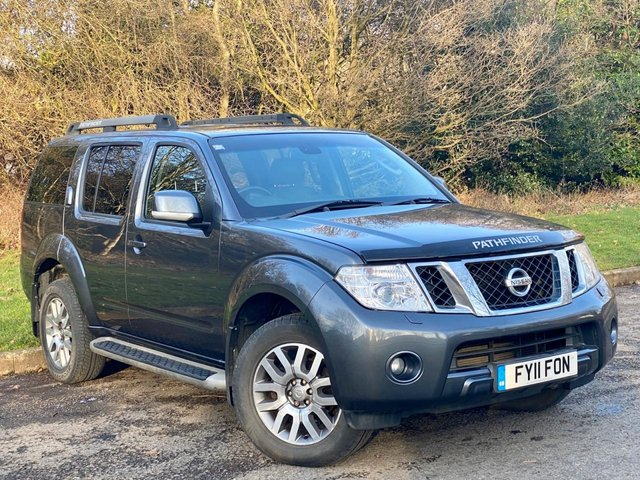 USED 2011 11 NISSAN PATHFINDER 2.5 TEKNA DCI 5d 188 BHP * 128 POINT AA INSPECTED * LEATHER TRIM * SATELLITE NAVIGATION *