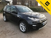 2015 LAND ROVER DISCOVERY SPORT 2.0 TD4 HSE 5d 180 BHP IN METALLIC BLACK WITH 69200 MILES, FULL SERVICE HISTORY, WITH A HUGE SPEC AND  1 OWNER £19499.00