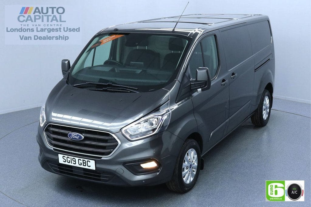 USED 2019 19 FORD TRANSIT CUSTOM 2.0 300 LIMITED L2 H1 130 BHP EURO 6 ENGINE AIR CON   PARKING SENSORS   ALLOY WHEELS