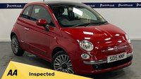 USED 2015 15 FIAT 500 1.2 LOUNGE 3d 70 BHP (UPGRADED ALLOYS - BLUETOOTH)