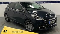 USED 2017 66 PEUGEOT 208 1.2 ALLURE 5d 80 BHP (ONE OWNER - LOW MILEAGE)