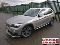 USED 2015 64 BMW X1 2.0 XDRIVE18D XLINE 5d 141 BHP SATNAV LEATHER CRUISE CLIMATE BLUETOOTH  SATELLITE NAVIGATION. STUNNING SILVER MET WITH FULL BEIGE LEATHER TRIM. 18 INCH M-SPORT ALLOYS. COLOUR CODED TRIMS. PARKING SENSORS. BLUETOOTH PREP. CLIMATE CONTROL WITH AIR CON. R/CD PLAYER. AUTO. MFSW. MOT 01/21. SERVICE HISTORY. PRESTIGE SUV CENTRE LS23 7FR. TEL 01937 849492 OPTION 1