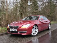 USED 2014 14 BMW 6 SERIES 3.0 640D SE GRAN COUPE 4d AUTO 309 BHP