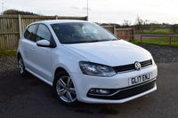 2017 VOLKSWAGEN POLO 1.4 MATCH EDITION TDI 5d 74 BHP £9350.00
