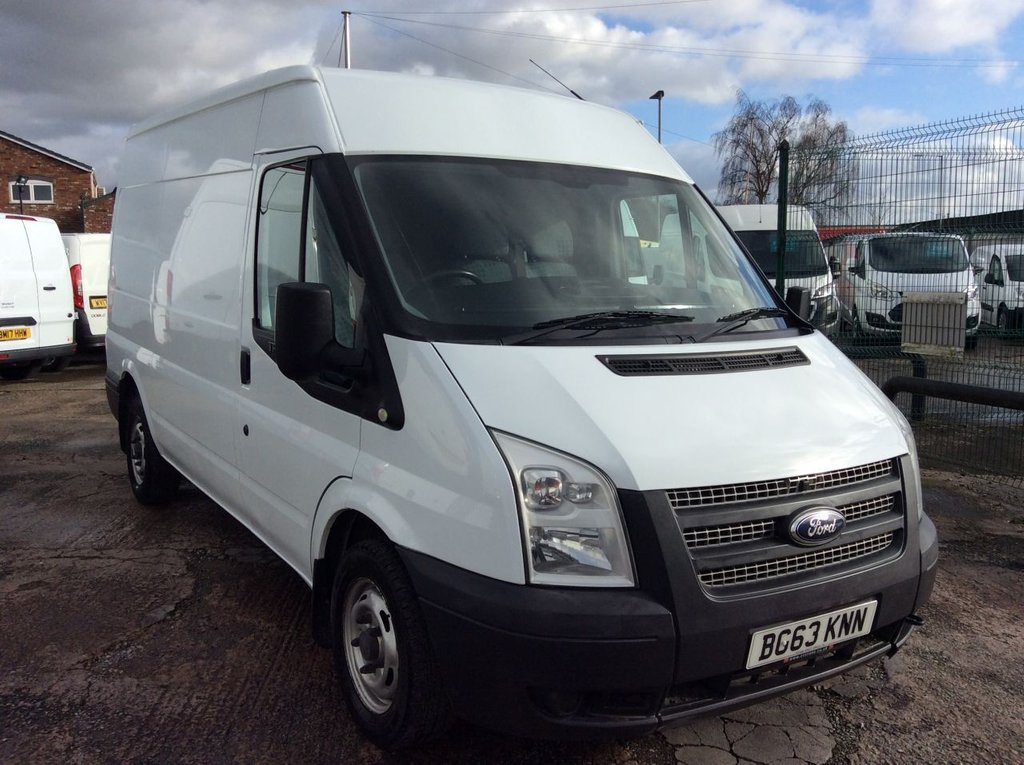 USED 2013 63 FORD TRANSIT MWB L2 H2 2.2 280 99 BHP 1 OWNER FSH NEW MOT  FREE AA WARRANTY INCLUDING RECOVERY AND ASSIST NEW MOT EURO 5 SPARE KEY ELECTRIC WINDOWS 6 SPEED