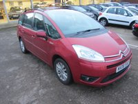 USED 2008 08 CITROEN C4 GRAND PICASSO 1.6 VTR PLUS HDI 5d 110 BHP