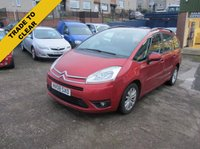 2008 CITROEN C4 GRAND PICASSO 1.6 VTR PLUS HDI 5d 110 BHP £2295.00